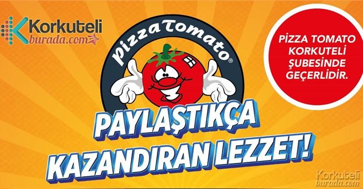Korkuteli Pizza Tomato'dan Kazandıran Lezzet